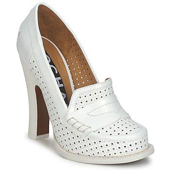 Sapatos Mulher Escarpim Rochas RO18031 Branco