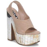 Sapatos Mulher Sandálias Rochas RO18175 Tabaco