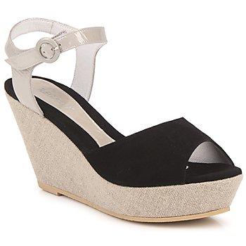 Sapatos Mulher Sandálias Regard RAFATI Preto