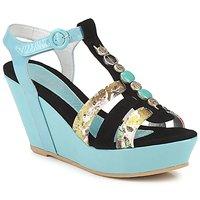 Sapatos Mulher Sandálias Regard RAFAVO Preto / Azul
