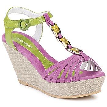 Sapatos Mulher Sandálias Regard RAFAZA Violino / Verde