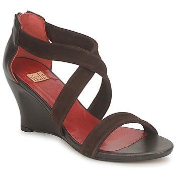 Sapatos Mulher Sandálias Vialis NIVEL Castanho