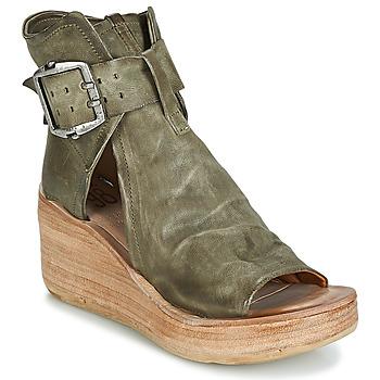 Sapatos Mulher Sandálias Airstep / A.S.98 NOA BUCKLE Cáqui