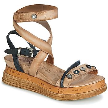 Sapatos Mulher Sandálias Airstep / A.S.98 LAGOS Bege / Preto
