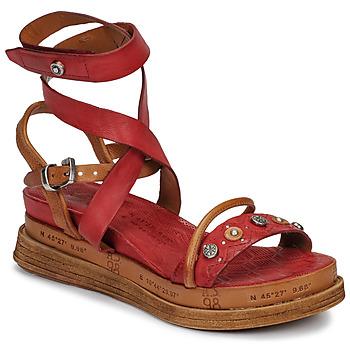 Sapatos Mulher Sandálias Airstep / A.S.98 LAGOS Vermelho