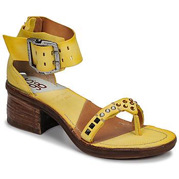 Sapatos Mulher Sandálias Airstep / A.S.98 KENYA Amarelo