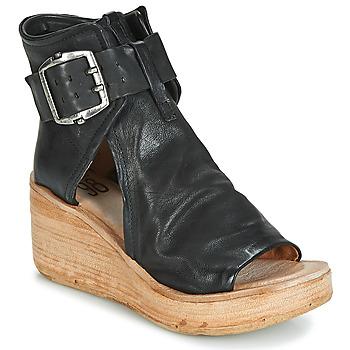 Sapatos Mulher Sandálias Airstep / A.S.98 NOA BUCKLE Preto