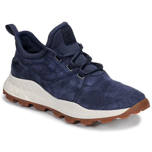 Sapatos Homem Sapatilhas Timberland BROOKLYN LACE OXFORD Azul
