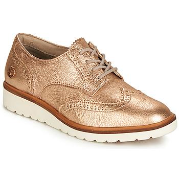 Sapatos Mulher Sapatos Timberland ELLIS STREET OXFORD Rosa / Ouro