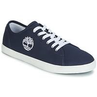 Sapatos Criança Sapatilhas Timberland NEWPORT BAY CANVAS OX Azul
