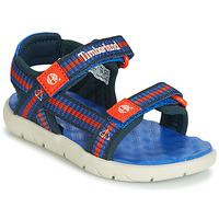 Sapatos Criança Sandálias Timberland PERKINS ROW WEBBING SNDL Azul