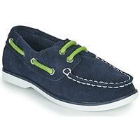 Sapatos Criança Sapato de vela Timberland SEABURY CLASSIC 2EYE BOAT Preto