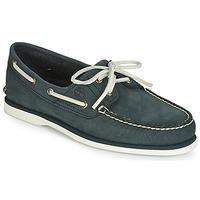 Sapatos Homem Sapato de vela Timberland CLASSIC BOAT 2 EYE Cinza