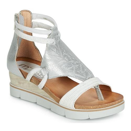 Sapatos Mulher Sandálias Mjus TAPASITA Branco / Prata