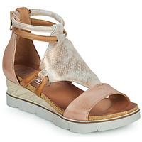 Sapatos Mulher Sandálias Mjus TAPASITA Rosa / Ouro
