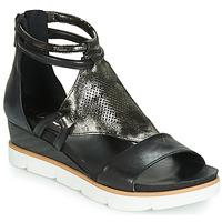Sapatos Mulher Sandálias Mjus TAPASITA Preto / Metalizado