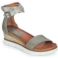Sapatos Mulher Sandálias Mjus TAPASITA Cinza / Prata