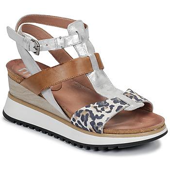 Sapatos Mulher Sandálias Mjus TARDE Camel / Bege / marinho