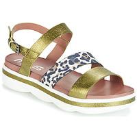 Sapatos Mulher Sandálias Mjus TALISMAN Verde / Bege / marinho