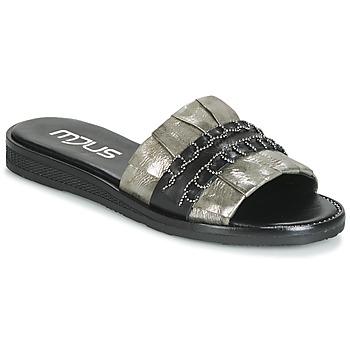 Sapatos Mulher Chinelos Mjus TEMPLE Cáqui / Preto