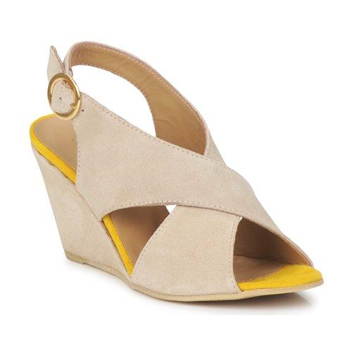 Sapatos Mulher Sandálias Pieces OTTINE SHOP SANDAL Toupeira