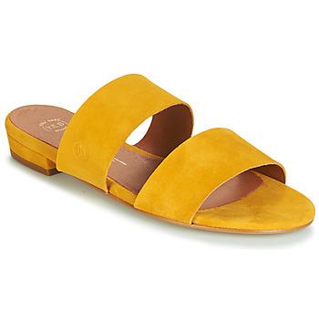 Sapatos Mulher Chinelos Betty London JISTINE Amarelo