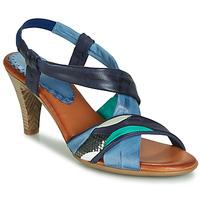 Sapatos Mulher Sandálias Betty London POULOI Azul / Verde