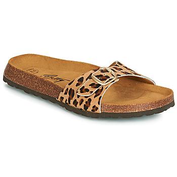 Sapatos Mulher Chinelos Betty London JIKOTI Castanho
