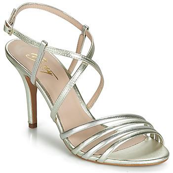 Sapatos Mulher Sandálias Betty London JIKOTIPE Ouro / Prata