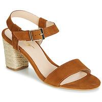 Sapatos Mulher Sandálias Betty London JIKOTIFE Camel