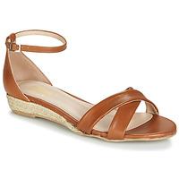 Sapatos Mulher Sandálias Betty London JIKOTIVE Camel