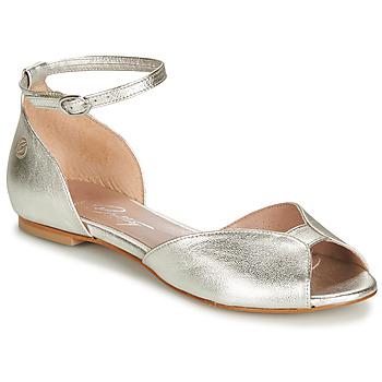 Sapatos Mulher Sandálias Betty London INALI Prata