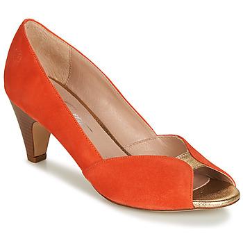 Sapatos Mulher Escarpim Betty London JIKOTIZE Coral