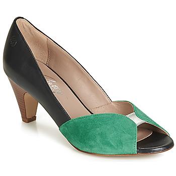 Sapatos Mulher Escarpim Betty London JIKOTIZE Preto / Verde