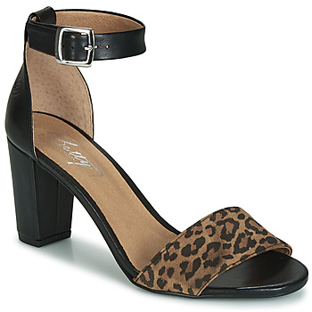 Sapatos Mulher Sandálias Betty London CRETOLIA Preto