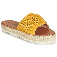 Sapatos Mulher Chinelos Betty London JIKOTIGE Amarelo