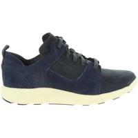 Sapatos Homem Sapatilhas Timberland A1SBB FLYROAM Azul