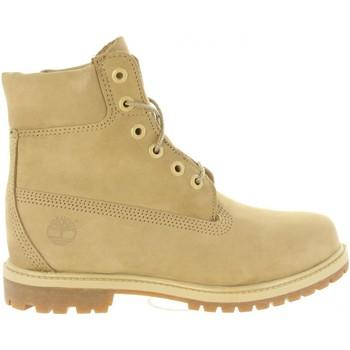 Sapatos Mulher Sapatos de caminhada Timberland A1K3Y 6IN PREMIUM Beige