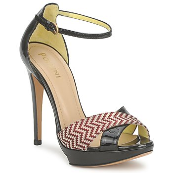 Sapatos Mulher Sandálias Pollini PA1638CC1V Cuoio-rosso