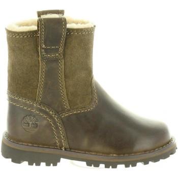 Sapatos Criança Botas Timberland A1BSC CHESTNUT Marrón