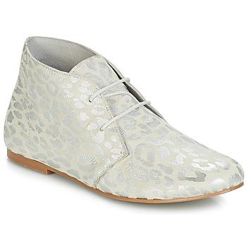 Sapatos Mulher Botas baixas Ippon Vintage HYP ARY Branco / Prata