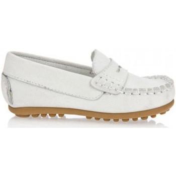 Sapatos Rapaz Mocassins Garatti PR0055 Blanco