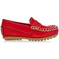Sapatos Rapaz Mocassins Garatti PR0055 Rojo
