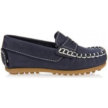 Sapatos Rapaz Mocassins Garatti PR0055 Azul