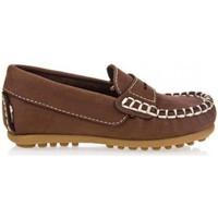 Sapatos Rapaz Mocassins Garatti PR0055 Marr?n