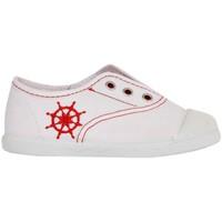 Sapatos Criança Sapatilhas Cotton Club CC0001 Blanco