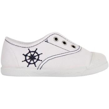 Sapatos Criança Sapatilhas Cotton Club CC0002 Blanco