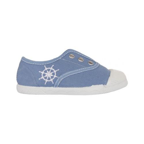 Sapatos Criança Sapatilhas Cotton Club CC0002 Azul