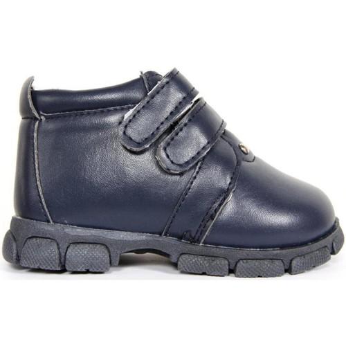 Sapatos Rapaz Botas baixas Happy Bee B155890-B1153 NAVY Azul
