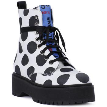 Sapatos Homem Botas baixas At Go GO  BIG POIS NERO Bianco